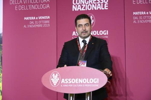 Massimo Tripaldi - Presidente Assoenologi Sezione Puglia Basilicata Calabria